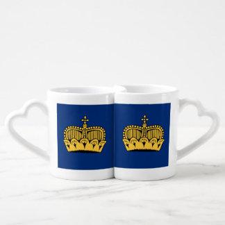 Lichtenstein Couple Mugs