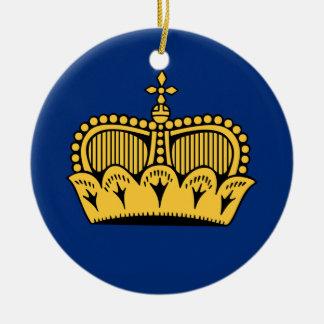 Lichtenstein Round Ceramic Decoration