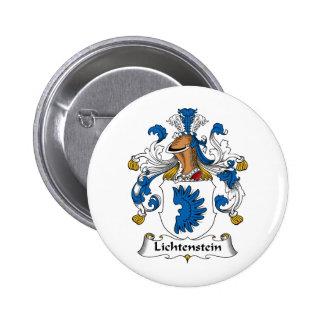 Lichtenstein Family Crest 6 Cm Round Badge