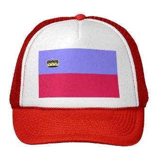 Lichtenstein Flag Mesh Hats