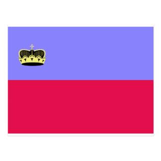 Lichtenstein Flag Postcards