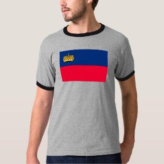 Lichtenstein Flag Tee Shirt