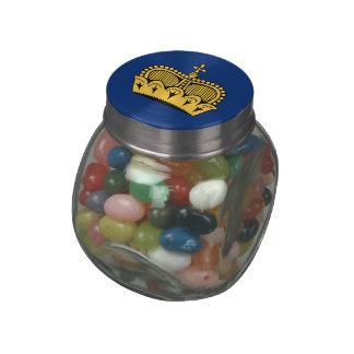 Lichtenstein Glass Jar