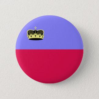 Lichtenstein High quality Flag 6 Cm Round Badge