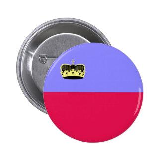 Lichtenstein High quality Flag Pin