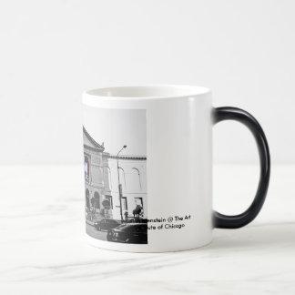 Lichtenstein in Chicago Magic Mug