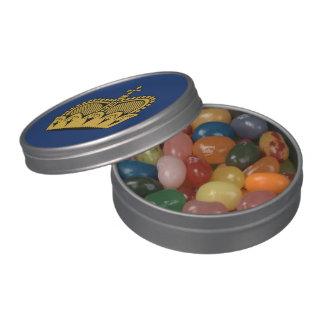 Lichtenstein Jelly Belly Candy Tin