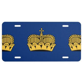 Lichtenstein License Plate