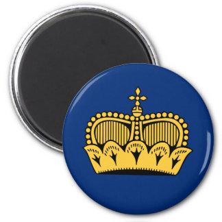 Lichtenstein 6 Cm Round Magnet
