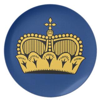 Lichtenstein Party Plates