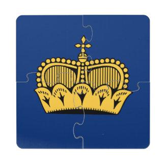 Lichtenstein Puzzle Coaster