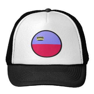 Lichtenstein quality Flag Circle Trucker Hat
