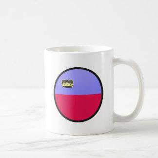 Lichtenstein quality Flag Circle Mugs
