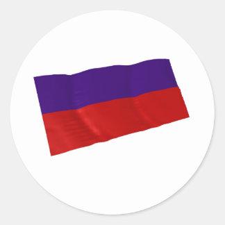 lichtenstein round sticker