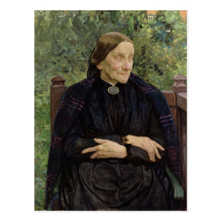 Lichtwark's Mother, 1908 Postcard