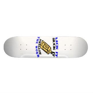 Lick It Suck It Swallow The Worm Skate Board
