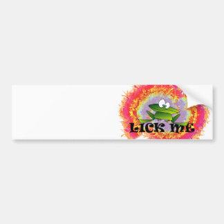 Lick Me Bumper Sticker