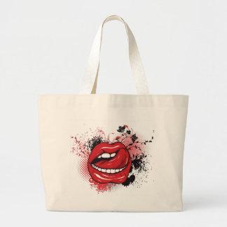 Lickin' Good Large Tote Bag