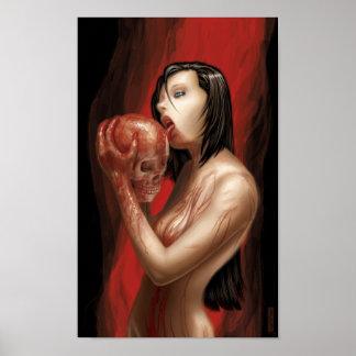 Licking Skulls Poster