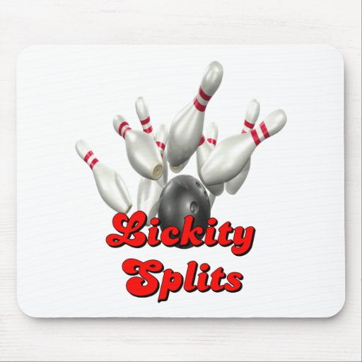 Lickity Split Bowling Mouse Pads