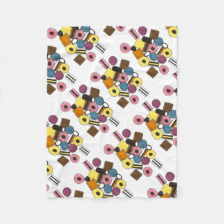 Licorice Allsorts All Sorts Candy Candies Blanket