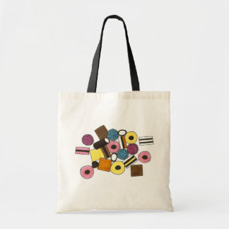 Licorice Allsorts Candy Liquorice Candies Address Tote Bag