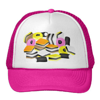 Licorice Allsorts Cap