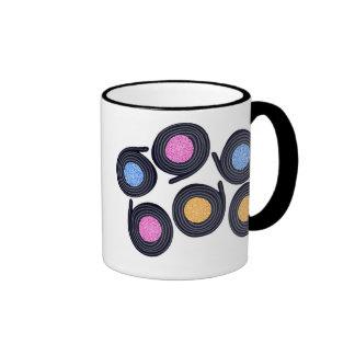 Licorice Catherine Wheels Coffee Mugs