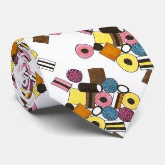 Licorice Liquorice Allsorts All Sorts Candy Sweets Tie