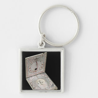 Lidded compass, 1627 key chain