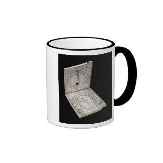Lidded compass, 1627 ringer coffee mug