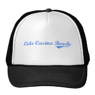 Lido Casino Beach Florida Classic Design Mesh Hats