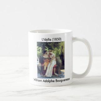 L'Idylle (1850) Basic White Mug