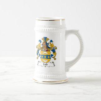 Lieb Family Crest Coffee Mugs