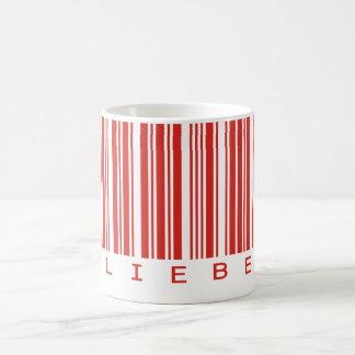 Liebe Bar Basic White Mug