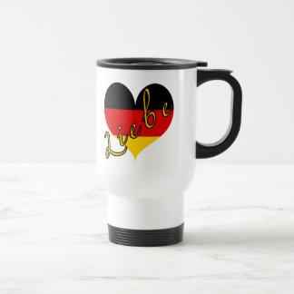 Liebe (Love) Germany Heart Coffee Mug