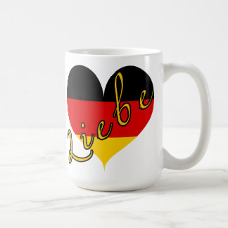 Liebe (Love) Germany Heart Mug