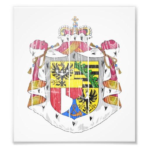 Liechtenstein Coat Of Arms Photograph