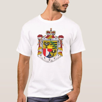 Liechtenstein Coat of Arms T-shirt