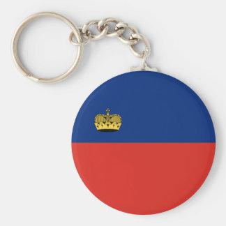 Liechtenstein country long flag nation symbol repu key ring