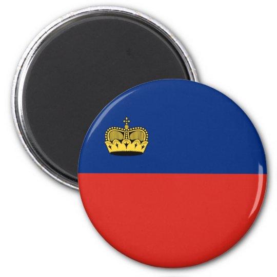 Liechtenstein country long flag nation symbol repu magnet