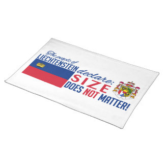 Liechtenstein custom placemat