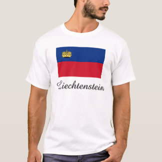Liechtenstein Flag Design T-Shirt
