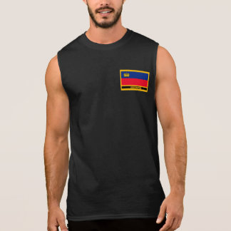 Liechtenstein Flag Sleeveless Shirt