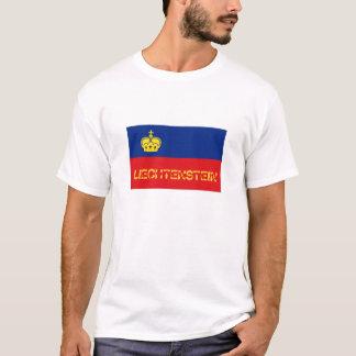Liechtenstein flag souvenir tshirt