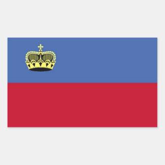 Liechtenstein Flag Stickers