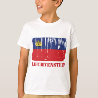 Liechtenstein Flag T-Shirt