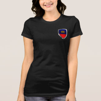 Liechtenstein Metallic Emblem T-Shirt