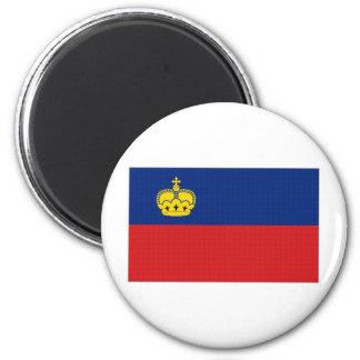 Liechtenstein National Flag Magnet