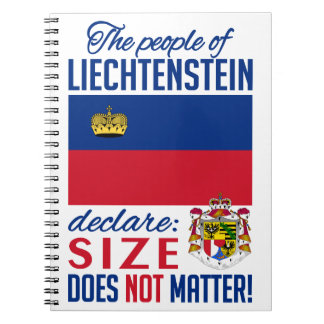 Liechtenstein notebook